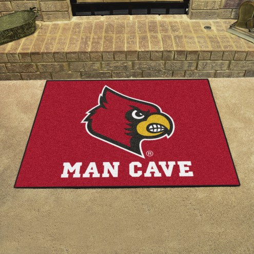 Louisville Cardinals Man Cave All-Star Rug