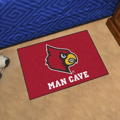 Louisville Cardinals Man Cave Starter Mat
