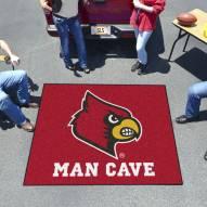 Louisville Cardinals Man Cave Tailgate Mat