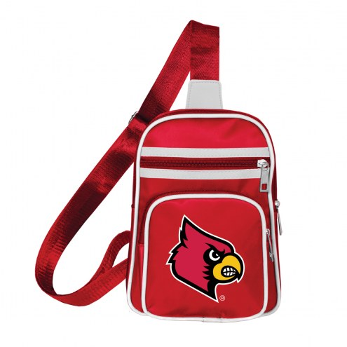 Louisville Cardinals Mini Cross Sling Bag