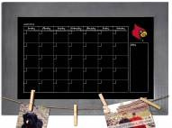 Louisville Cardinals Monthly Chalkboard with Frame