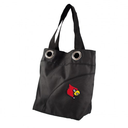 Louisville Cardinals NCAA Color Sheen Tote Bag