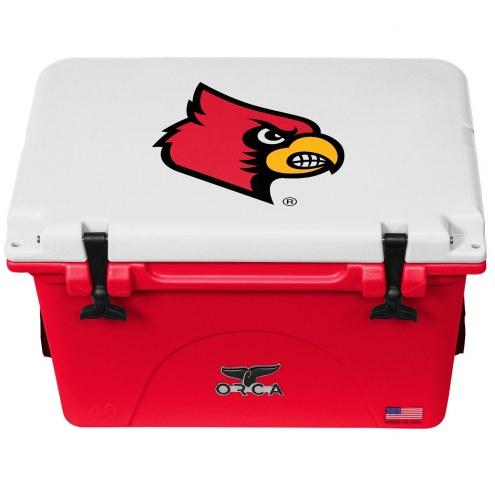 Louisville Cardinals ORCA 40 Quart Cooler