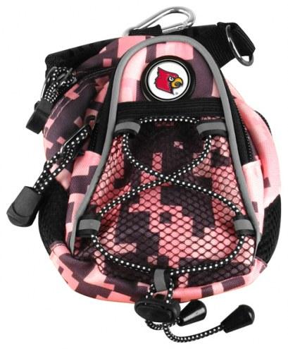 Louisville Cardinals Pink Digi Camo Mini Day Pack