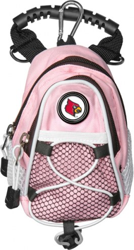 Louisville Cardinals Pink Mini Day Pack