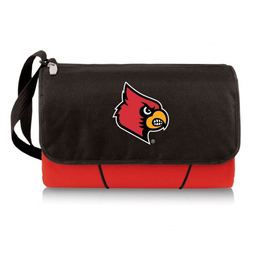 Louisville Cardinals Red Blanket Tote