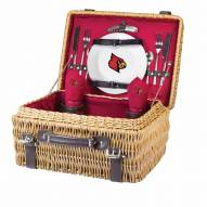 Louisville Cardinals Red Champion Picnic Basket