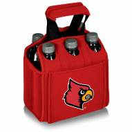 Louisville Cardinals Red Six Pack Cooler Tote