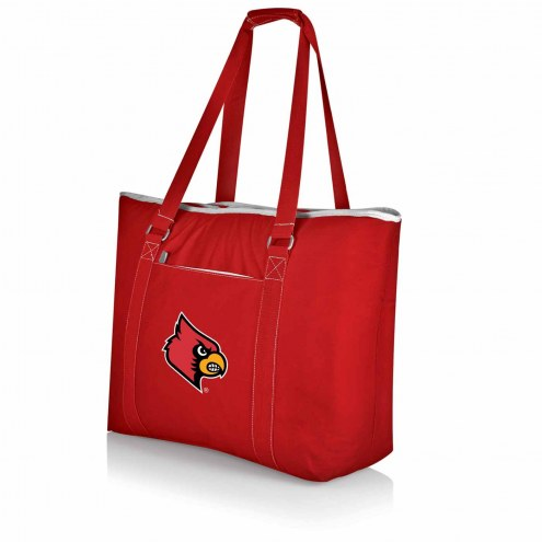 Louisville Cardinals Red Tahoe Beach Bag