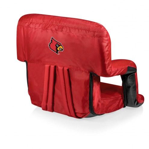 Louisville Cardinals Red Ventura Portable Outdoor Recliner