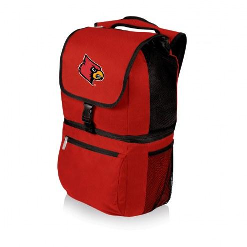 Louisville Cardinals Red Zuma Cooler Backpack