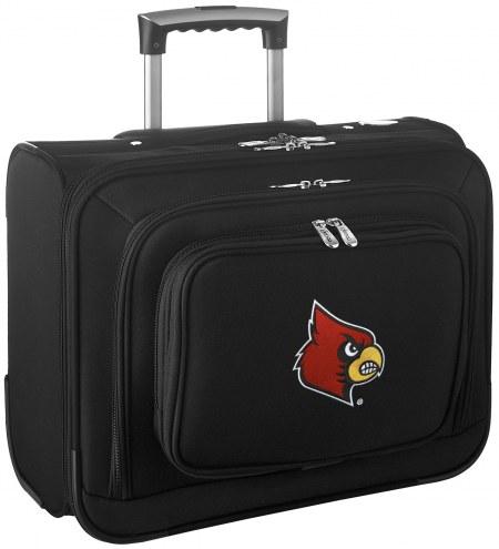 Louisville Cardinals Rolling Laptop Overnighter Bag