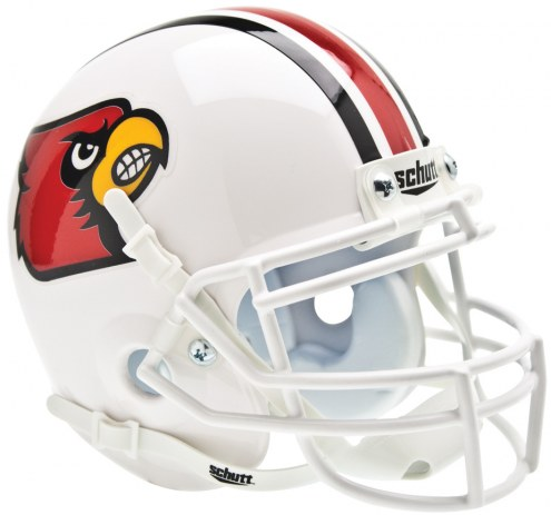 Louisville Cardinals Schutt Mini Football Helmet