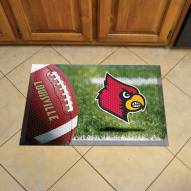 Louisville Cardinals Scraper Door Mat