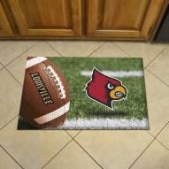 Louisville Cardinals Scraper Door Mat