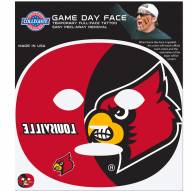 Louisville Cardinals Set of 4 Game Day Faces