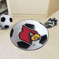 Louisville Cardinals Soccer Ball Mat