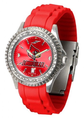 Louisville Cardinals Sparkle Women's Watch