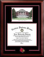 Louisville Cardinals Spirit Graduate Diploma Frame