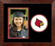Louisville Cardinals Spirit Vertical Photo Frame