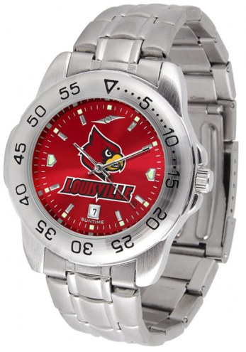 Louisville Cardinals Sport Steel AnoChrome Men's Watch