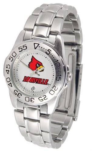 Louisville Cardinals Sport Steel Women's Watch