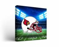 Louisville Cardinals Stadium Canvas Wall Art
