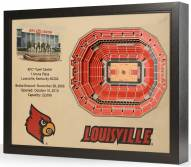 Louisville Cardinals 25-Layer StadiumViews 3D Wall Art