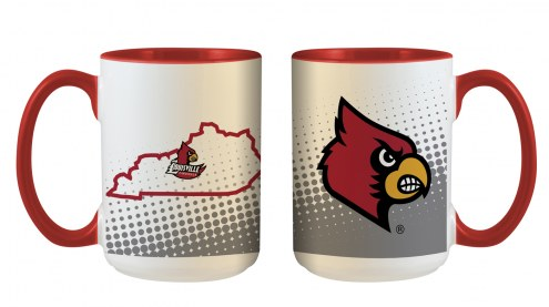 Louisville Cardinals State of Mind Coffee Mug