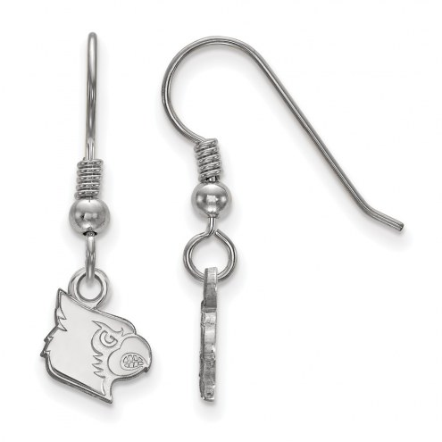Louisville Cardinals Sterling Silver Extra Small Dangle Earrings