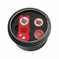 Louisville Cardinals Switchfix Golf Divot Tool & Ball Markers