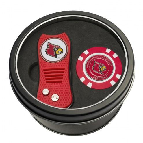 Louisville Cardinals Switchfix Golf Divot Tool & Chip
