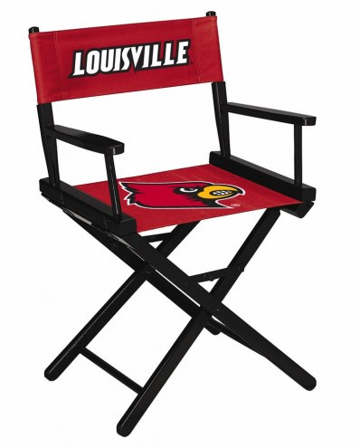 Louisville Cardinals Table Height Director's Chair