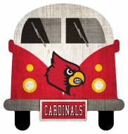 Louisville Cardinals Team Bus Sign