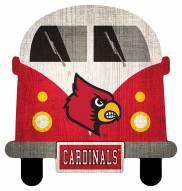 Louisville Cardinals Team Bus Sign