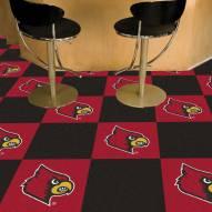 Louisville Cardinals Team Carpet Tiles