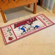 Louisville Cardinals Ticket Runner Rug