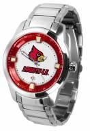 Louisville Cardinals Titan Steel Men's Watch