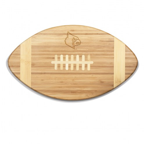 Louisville Cardinals Touchdown Cutting Board