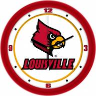 Louisville Cardinals Traditional Wall Clock
