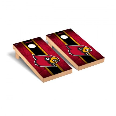 Louisville Cardinals Vintage Cornhole Game Set