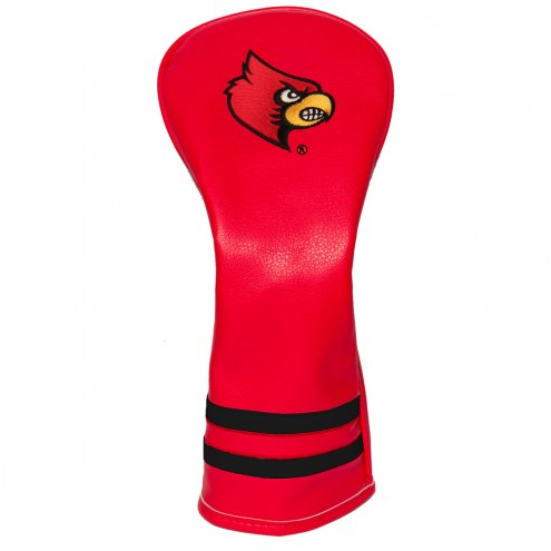 Louisville Cardinals Vintage Golf Fairway Headcover