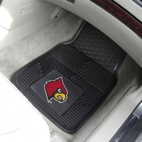Louisville Cardinals Vinyl 2-Piece Car Floor Mats