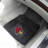 Louisville Cardinals Vinyl 2-Piece Car Floor Mats