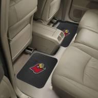 Louisville Cardinals Vinyl 2-Piece Rear Floor Mats