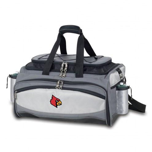 Louisville Cardinals Vulcan Cooler & Propane Grill