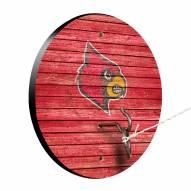 Louisville Cardinals Weathered Design Hook & Ring Game