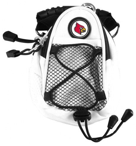 Louisville Cardinals White Mini Day Pack