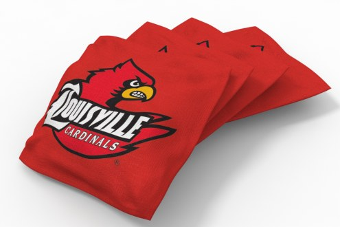Louisville Cardinals Cornhole Bags - Set of 4