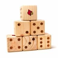 Louisville Cardinals Yard Dice